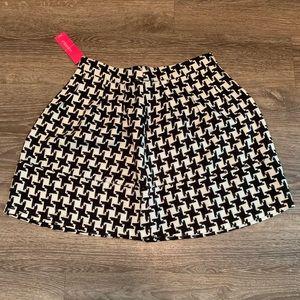 Xhilaration Houndstooth Skirt
